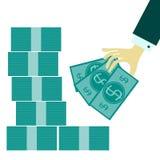 Ícone liso da Web Imagem de Stock