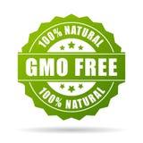 Ícone livre do produto natural do Gmo Imagens de Stock Royalty Free