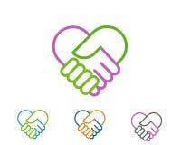 Ícone Logo Template V: 22 imagem de stock