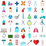 Ícone médico Fotografia de Stock