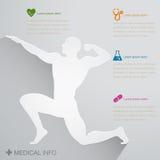 Ícone médico da enfermeira Imagens de Stock Royalty Free