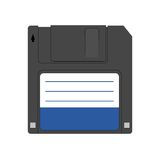 Ícone magnético do disco flexível Imagens de Stock Royalty Free