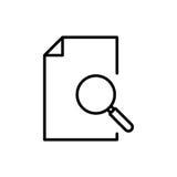 Ícone ou logotipo superior de original na linha estilo Foto de Stock Royalty Free