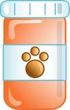 Ícone ou símbolo da prescrição do animal de estimação Fotos de Stock Royalty Free