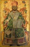Ícone religioso - monastério de St Barnabas ilustração stock