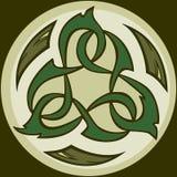 Ícone tribal de Camo Triskele Imagens de Stock