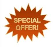 Ícone/vara do Web da oferta especial Foto de Stock