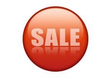 Ícone vermelho da venda Fotos de Stock