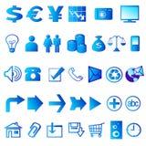 Ícones 02 do Web Imagem de Stock Royalty Free