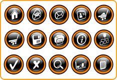 Ícones Imagem de Stock Royalty Free