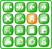 Ícones Imagem de Stock