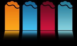 Ícones Imagens de Stock