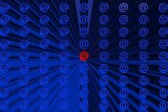 Ícones abstratos Imagem de Stock