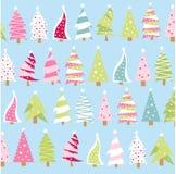 Ícones da árvore de Natal Fotos de Stock Royalty Free