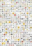 Ícones da aplicação web Fotos de Stock