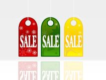Ícones da compra Fotografia de Stock