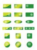 Ícones da ecologia ilustração royalty free