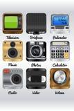 Ícones da excelência Fotografia de Stock