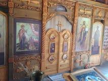 Ícones da igreja Imagens de Stock