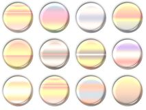 Ícones da lente ilustração do vetor