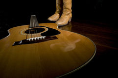 Ícones da música country Fotos de Stock Royalty Free