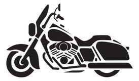 Ícones da motocicleta Imagem de Stock Royalty Free