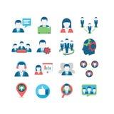 Ícones da rede Fotografia de Stock Royalty Free