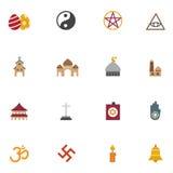 Ícones da religião Fotografia de Stock