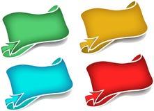 Ícones da seta Imagem de Stock