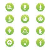 Ícones da sustentabilidade Fotos de Stock