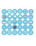 Ícones da Web ajustados Imagem de Stock