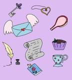 Ícones das crianças ilustração royalty free