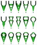 Ícones das navegações - ilustração Imagens de Stock Royalty Free