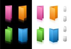Ícones de dobramento Foto de Stock