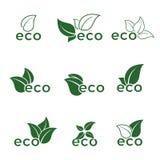 Ícones de Eco Imagem de Stock Royalty Free