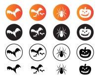 Ícones de Halloween Foto de Stock Royalty Free