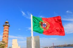 Ícones de Lisboa Foto de Stock Royalty Free