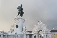 Ícones de Lisboa & de x28; Portugal& x29; fotografia de stock royalty free