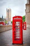 Ícones de Londres Imagens de Stock Royalty Free