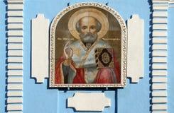 Ícones de São Nicolau Chudotvo Fotos de Stock