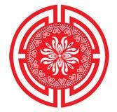 Ícones decorativos chineses Imagem de Stock Royalty Free