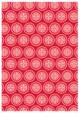Ícones decorativos chineses Fotografia de Stock