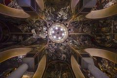 Ícones dentro da igreja em Tsarevets Fotos de Stock Royalty Free