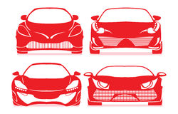 Ícones do carro Imagens de Stock