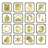 Ícones do colchão Fotografia de Stock Royalty Free