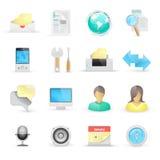 Ícones do computador Foto de Stock Royalty Free
