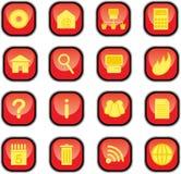 Ícones do computador Fotos de Stock