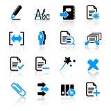 Ícones do computador Foto de Stock