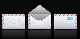 Ícones do correio Ilustração do Vetor