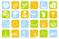 Ícones do curso Foto de Stock Royalty Free